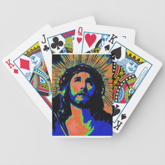 PopArt Jesus 2 Spielkarten