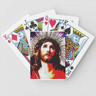PopArt Jesus Pokerkarten