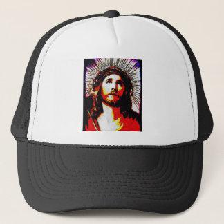 PopArt Jesus Trucker Hat