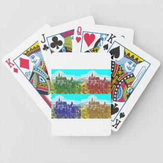 PopArt Neuschwanstein Poker Karten