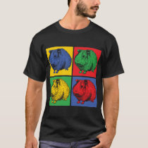 Popart sea pig T-Shirt