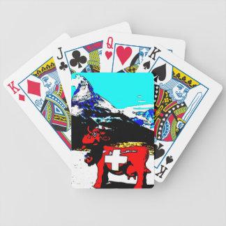 PopArt Switzerland Spielkarten