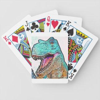 PoPArt T-Rex Poker Karten