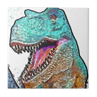 PoPArt T-Rex Tile