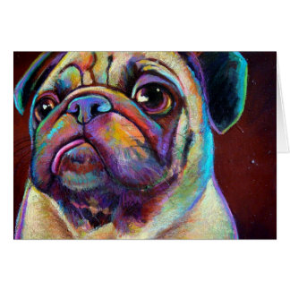 POPARTPARTY Pug Greeting Cards