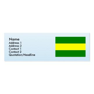 Popayan, Columbia Business Card