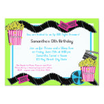 Popcorn and a Movie Personalized Invite