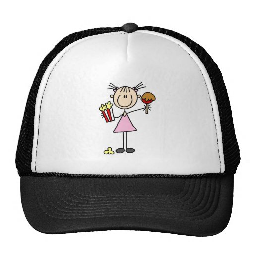 Popcorn and Cotton Candy Tshirts and Gifts Trucker Hat