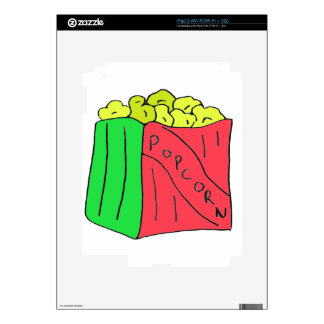 POPcorn Art Decals For The iPad 2