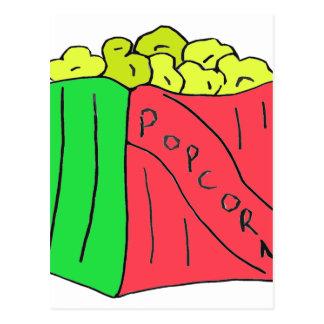 POPcorn Art Postcard