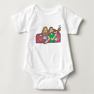 Popcorn at the Movies Baby Bodysuit