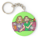 Popcorn at the Movies keychain