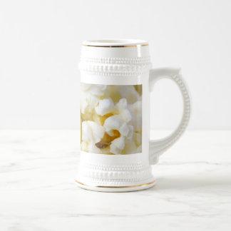 Popcorn Background Beer Stein