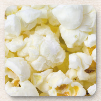 Popcorn Background Beverage Coaster