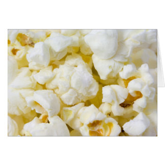 Popcorn Background Card