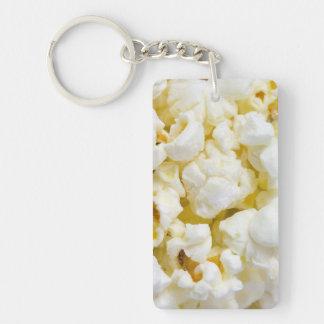 Popcorn Background Keychain
