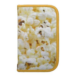 Popcorn background folio planners
