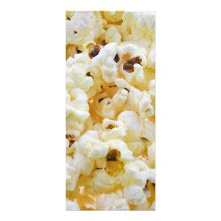 Popcorn background rack card
