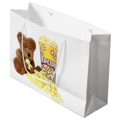 popcorn large gift bag zazzle