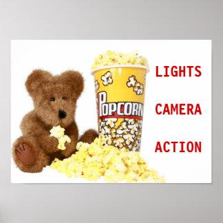 Popcorn Bear Poster