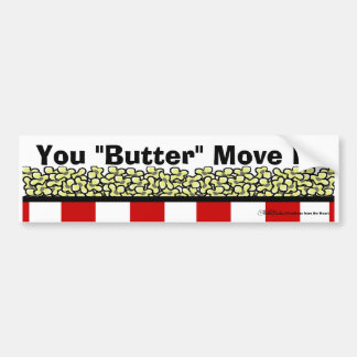Popcorn Bumper Sticker