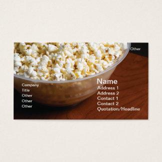Popcorn Business Card