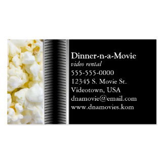 Popcorn Business Cards