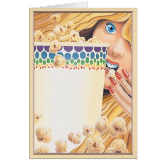 Popcorn © greeting card