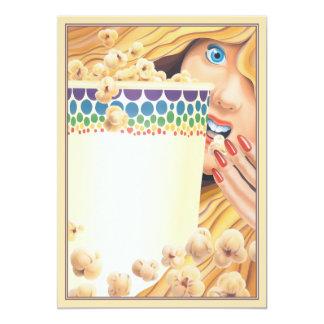 Popcorn © card