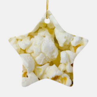 Popcorn Ceramic Ornament