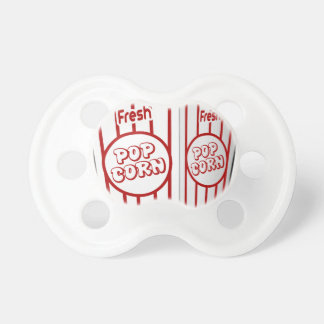 popcorn corn snack food movie night fun pacifier