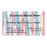 Popcorn Cotton Candy Fair Flags Business Card