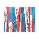 Popcorn Cotton Candy Fair Flags Canvas Prints