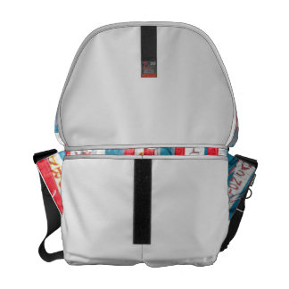 Popcorn Cotton Candy Fair Flags Courier Bags