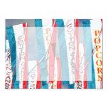Popcorn Cotton Candy Fair Flags Invitations