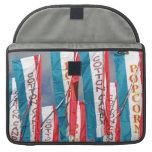 Popcorn Cotton Candy Fair Flags MacBook Pro Sleeves