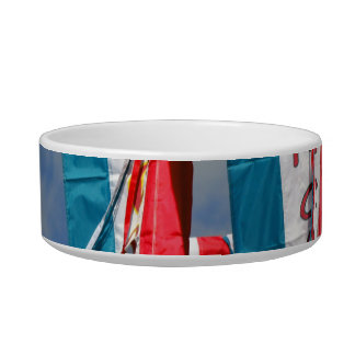 Popcorn Cotton Candy Fair Flags Cat Water Bowls