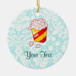 Popcorn; Cute Christmas Tree Ornaments