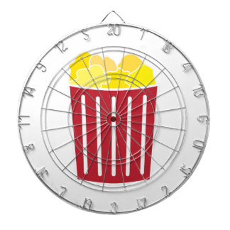 Popcorn Dartboard With Darts