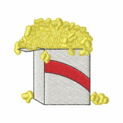 Popcorn Embroidered Shirts