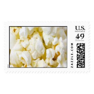 Popcorn Fan Postage Stamps
