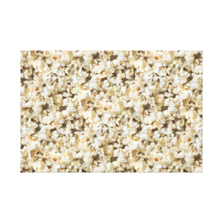 Popcorn for the TV room Canvas Print