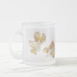 Popcorn Frosted Glass Coffee Mug