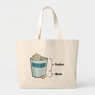 Popcorn Full Jumbo Tote Bag