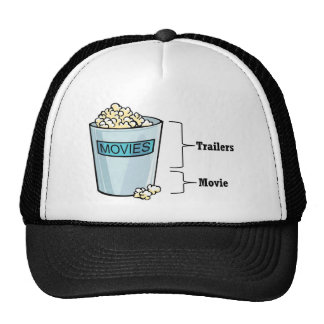 Popcorn Full Trucker Hat