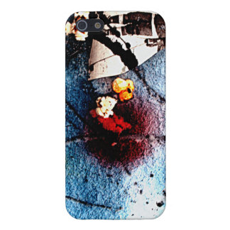 Popcorn in the Snow #1 Case For iPhone SE/5/5s