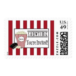 Popcorn Invitation Stamp