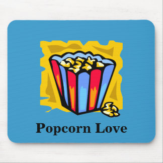 Popcorn Love Mouse Pads