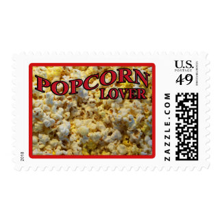 Popcorn Lover Gifts and Apparel Postage Stamp