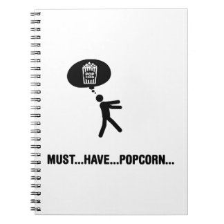 Popcorn Lover Note Book